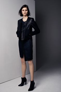 "Helmut Lang Pre-Fall 2013 Clean and sporty. A real ""palette cleanser"", as they describe it themselves."