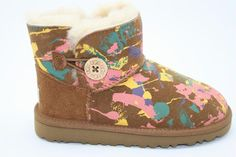 Ugg mini bailey button in multi color