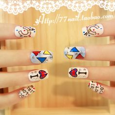 Aliexpress.com : Buy Rivet square  nail art patch small punk false nail 24 middot . from Reliable natural nail suppliers on Jessie's shop. $8.60