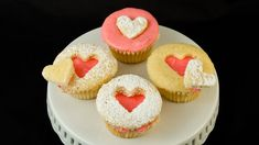 How to Make Valentine's Day Cupcakes. Heart Cut Out Cupcakes by Cookies ...