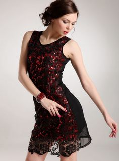 New Style Slim Sleeveless Lace Splice Occasion Dress--Click the picture can place an order, we support wholesale.