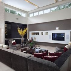 Modern Living Room Design, Pictures, Remodel, Decor and Ideas - page 4