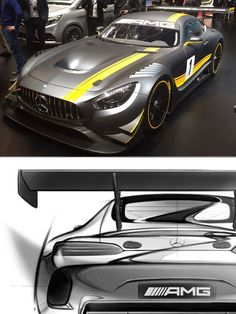 The world will enjoy the resonant sound of the #Mercedes V8 again, this time, it is another monster the #AMG #GT3