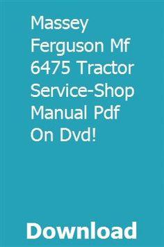 Massey Ferguson 856 Loader Original Dealer/'s Parts Book