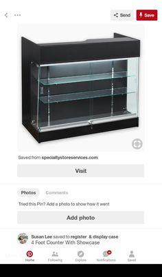 Susan Lee, Display Case, Kitchen Appliances, Home, Glass Display Case, Diy Kitchen Appliances, Display Window, Home Appliances, Ad Home