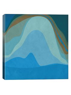 Modern Art- Blue Planet (Canvas) from Mobile First Look: Midcentury-Inspired Style on Gilt
