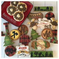 Lumber Cookies Set.