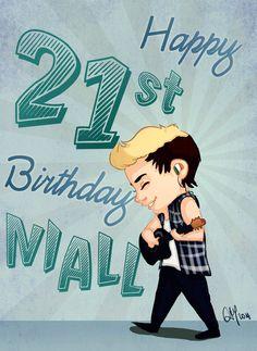 Niall's a birthday boy tomorrow (9/13/14)