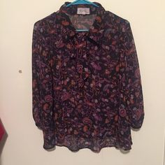 Forever 21 Top Paisley patterns Forever 21 Tops Blouses