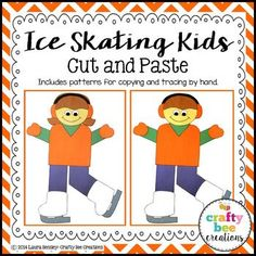Ice Skating Kids Cut
