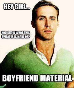 For some reason the hey girl ryan gosling memes always make me laugh Ryan Gosling, I Smile, Make Me Smile, Einstein, Jock, Just In Case, Just For You, Haha, Johny Depp