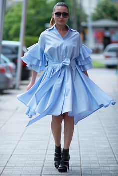 Maxi Dress for Summer, Flounces Dress, Summer Dress, Flounces Dress – EUG Fashion