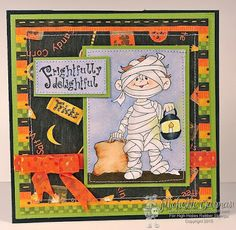 "High Hopes Stamps: Frightfully Delightful Mummy by Michelle using ""Mummy"" (SS008)"