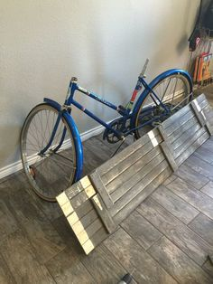 50s Bike Turned Into a Priceless Credenza! Hard to believe nobody wanted that Schwinn! They go for a lot of money. Regardless IF you're sure your bike isn't worth anything then you could do THIS with it LOL.