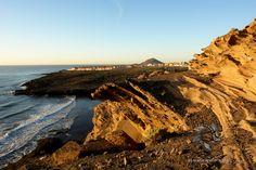 Acantilados y playa de Pelada #beach #senderismo #trekking #hiking #hike #outdoors #landscape #paisajes #tenerife