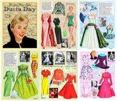 Doris Day Outfits | Doris Day was a fashion icon of her time. She represented color, good ...