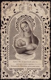 Image result for joseph  and Mary holy cards