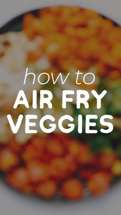 Your ultimate guide to air fryer vegetables! How to air fry virtually any vegetable into perfectly cooked, healthy deliciousness. fryer recipes healthy vegetables videos How to Air Fry Any Vegetable Air Fryer Recipes Vegetarian, Air Fryer Dinner Recipes, Air Fryer Oven Recipes, Cooking Recipes, Healthy Recipes, Air Fryer Recipes For Vegetables, Air Fryer Recipes Squash, Vegetarian Food, Air Fryer Recipes Chicken Breast