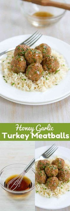 who can resist a plateful of honey garlic turkey meatballs great as appetizers or