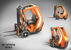 Toyota concept #forklift from the 2016 competition