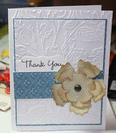 Cutters Creek Design Team: Thank you card by Cindy