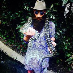 Jimmy Niggles - long full thick beard mustache beards bearded man men mens' style fashion clothing bearding #beardsforever