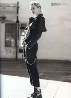 Black Leather Love | Layered Chains | Balenciaga Black Boots with silver buckle details