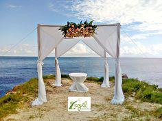 Decoracion Floral para bodas en Cancun y Riviera Maya  www.floreriazazil.com