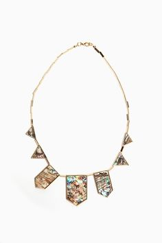 b02f77eee991 abalone necklace by house of harlow via nastygal.com --  135. i