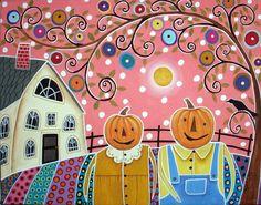 Pumpkinhead's Garden by karlagerard, via Flickr