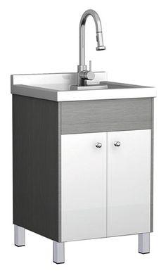 Home depot 294 caract ristiques cuve de lavage incluant for Robinet salle de bain home depot