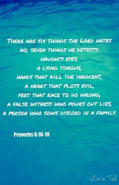 Proverbs October Reading Plan – Days 1-7 Wrap-Up proverbs-6:16-19