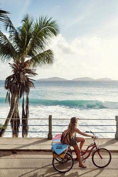 summer surf & palm trees #bluetomato #summertime #beachvibes