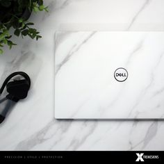 Have you picked up Dell's latest laptop (Dell XPS 13 and looking to add some protection and customisation? Then look no further as you've just found the UK's best Dell XPS 13 skins. Dell Laptop Skin, Laptop Design, Dell Laptops, Dell Xps, Laptop Covers, Brushed Metal, Iphone Accessories, White Marble, Tech