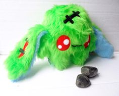 Fluse green Zombie Rabbit Kawaii Plush Creep stuffed von Fluse123
