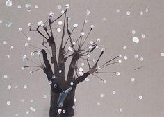 Этими техниками можно рисовать не только зимние картинки. Просто Зима - это очень красиво, да и времени для творчества больше, ч...