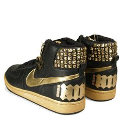 Nike Terminator Heavy Metal Edition ❤ liked on Polyvore so prettyer than mine that i have at my house for real girl...