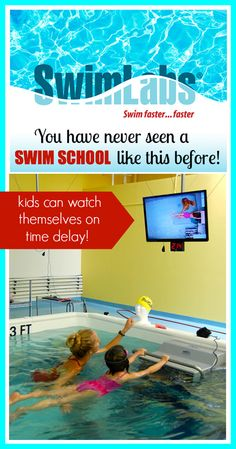 SwimLabs swim school in Lake Forest. Amazing technology to teach kids to swim! Mention Tiny Oranges and get 20% off any package of lessons purchased through 10/31/13!