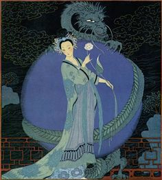 Turandot - Princess of China - Illustration by Georges Barbier