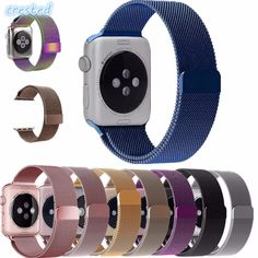 f64dbf26119 Milanese Loop Strap   Link Bracelet Stainless Steel band For Apple Watch  band 42 mm 38