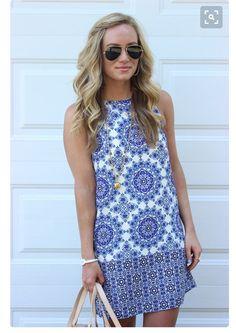 Blue dress spring stitch fix 2016