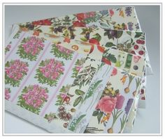 Collage bag Rossi 1931 decorative papers decoupage hobby
