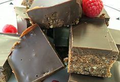 Healthy Chocolate Weetbix Slice