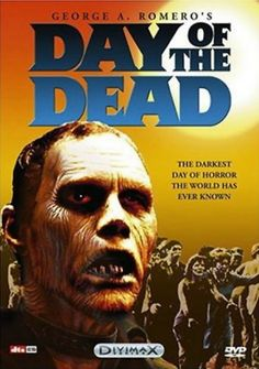 George Romero's Day of the Dead Movie DVD for sale by Journey's End at MoreThanHorror.com
