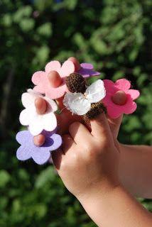 Bloemetjes voor het vlinderspel