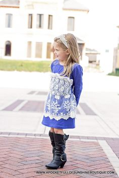 "BLUE LACE AND PEARLS ""CAILYN"" DRESS · A Pocket Full Of Sunshine · Online Store Powered by Storenvy"