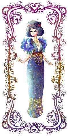 Deco Disney: Snow White by deepsetthinker.deviantart.com on @deviantART - Second in a series
