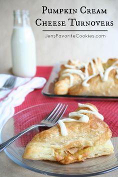 Pumpkin Cream Cheese Turnovers by Jen's Favorite Cookies