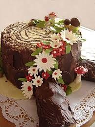 Výsledek obrázku pro dort pařez postup