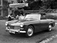 MG Midget 1961 pub crawl